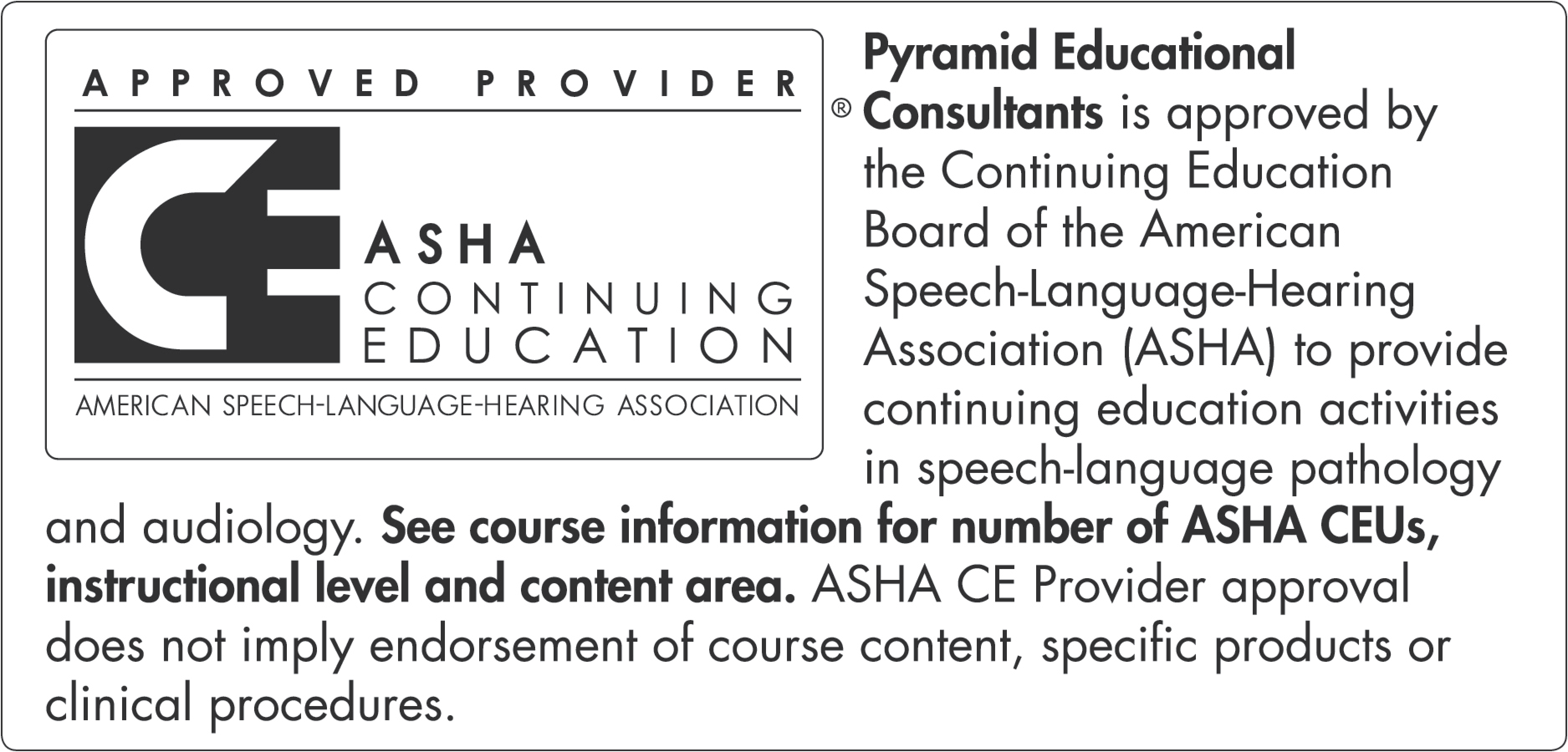 ASHA Statement